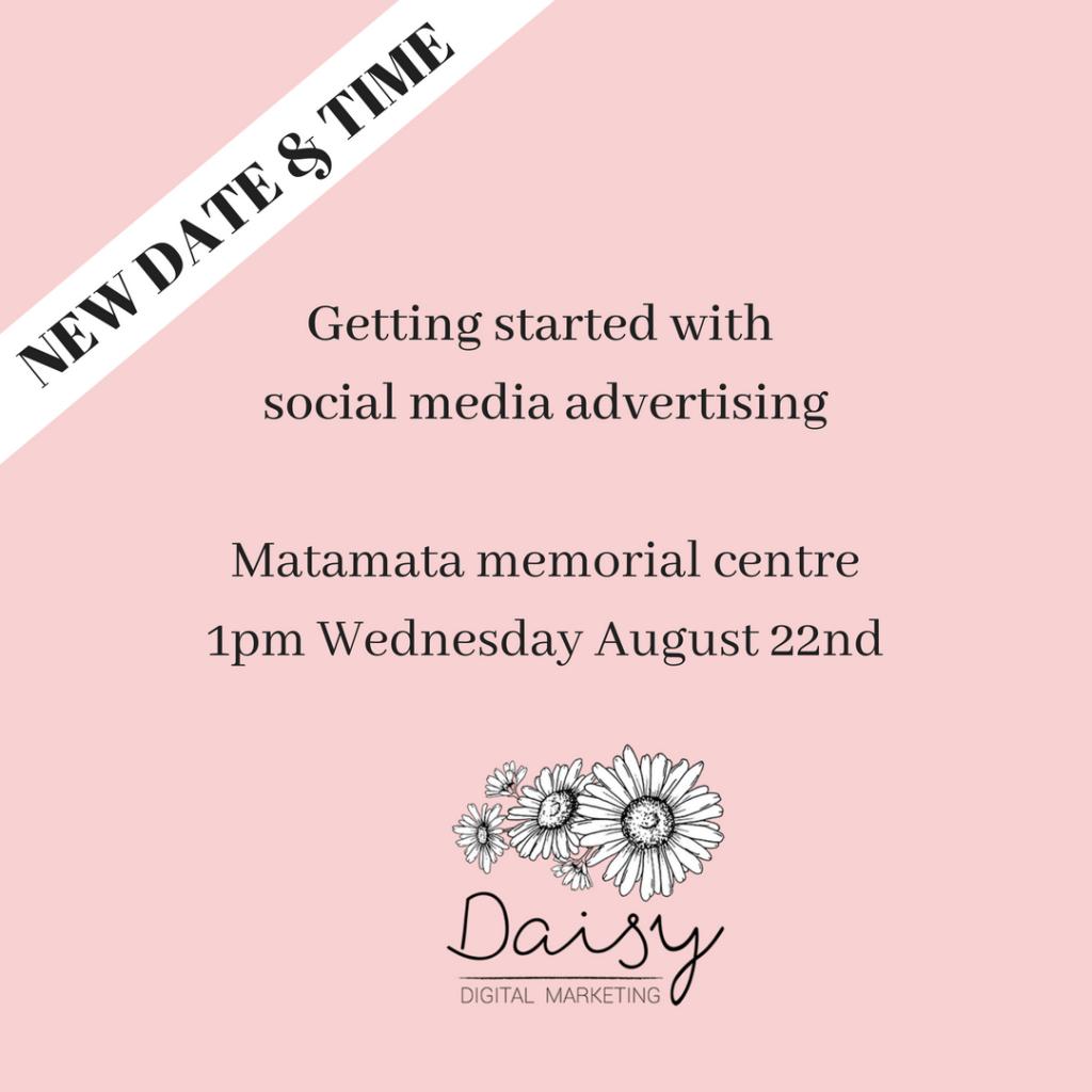 SM advertising workshop
