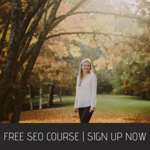 Free SEO Course