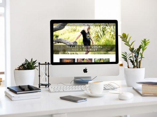 Wanderlust Solo Womens Tours Website Design