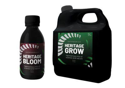 Heritage Horticulture Packaging Design